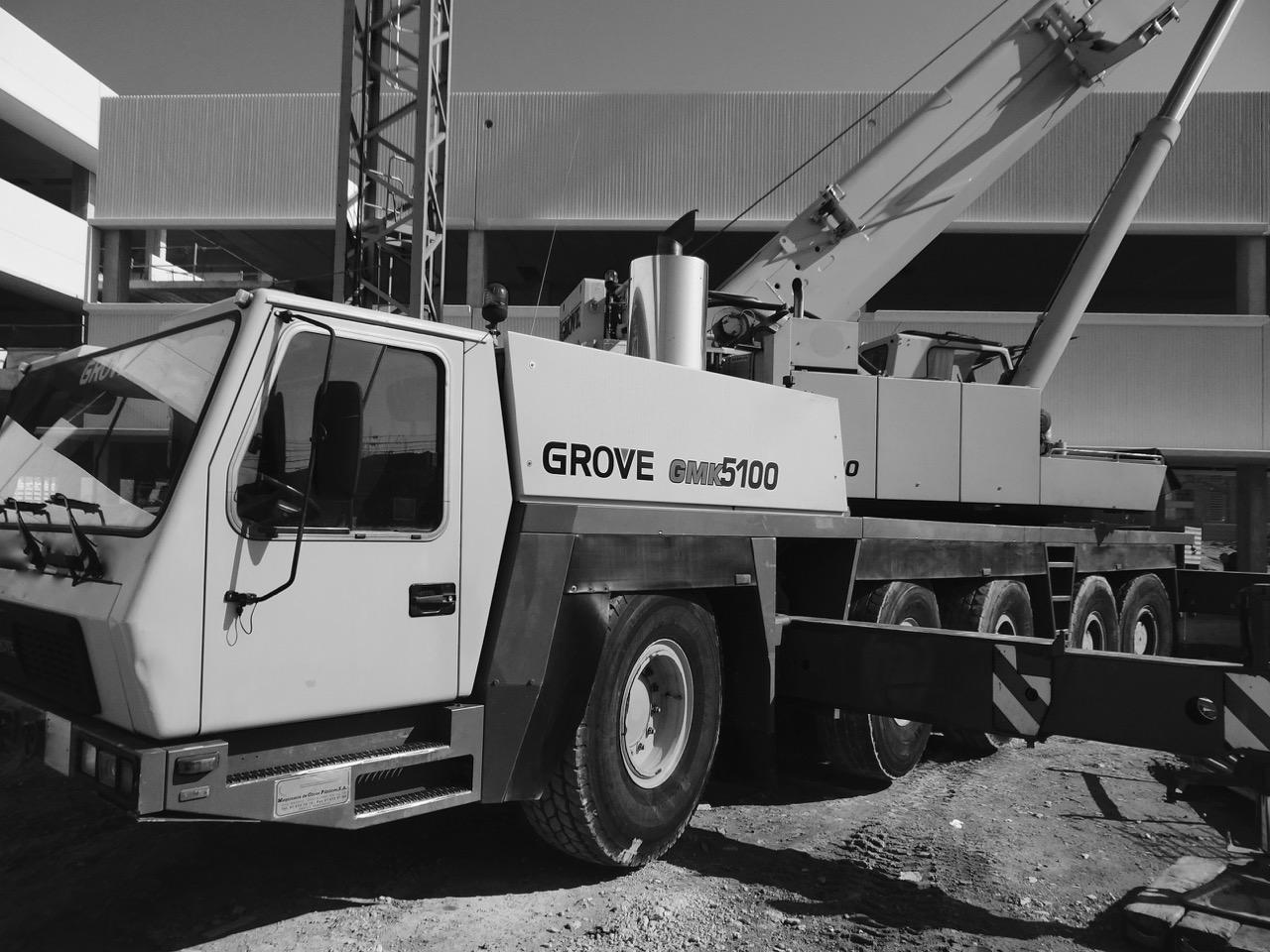 GROVE GMK 5100 MOBILE